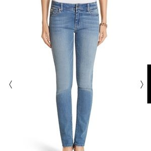 White House Black Market Slim Ankle Skinny Jeans